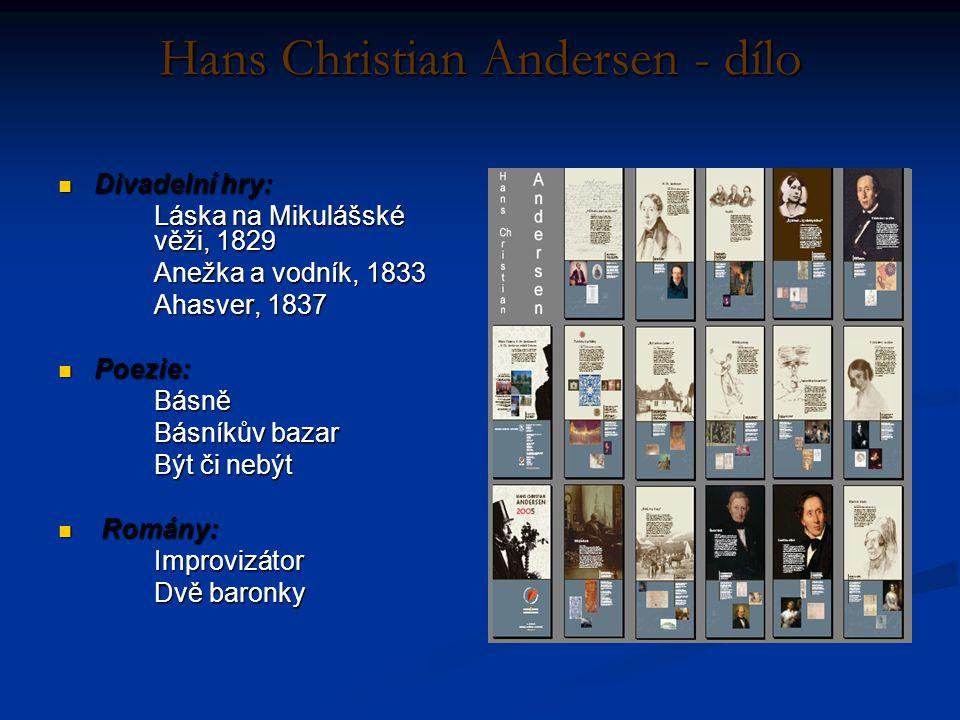 Hans Christian Andersen - dílo
