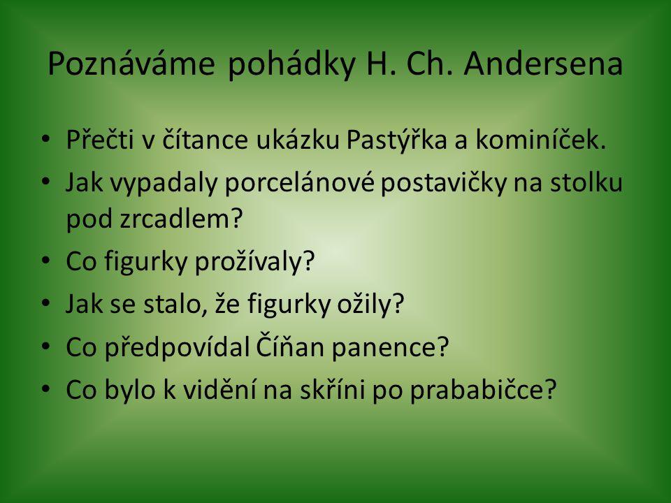 Poznáváme pohádky H. Ch. Andersena