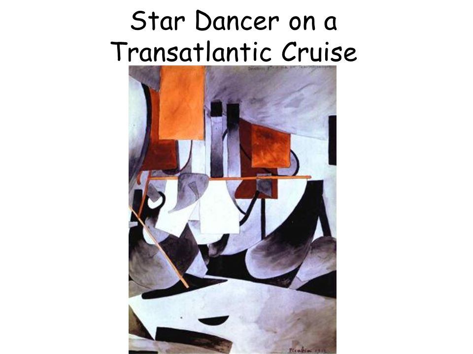 Star Dancer on a Transatlantic Cruise