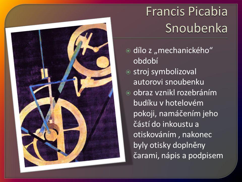 Francis Picabia Snoubenka