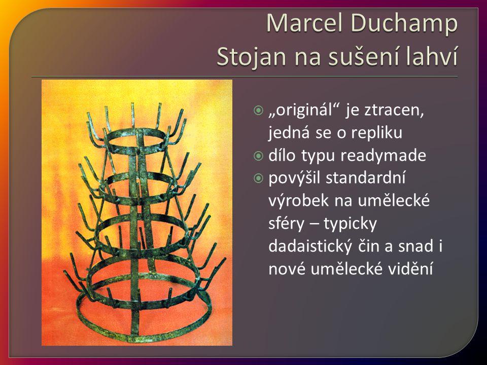 Marcel Duchamp Stojan na sušení lahví