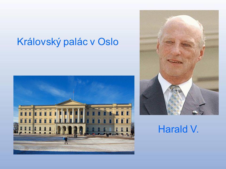 Královský palác v Oslo Harald V.