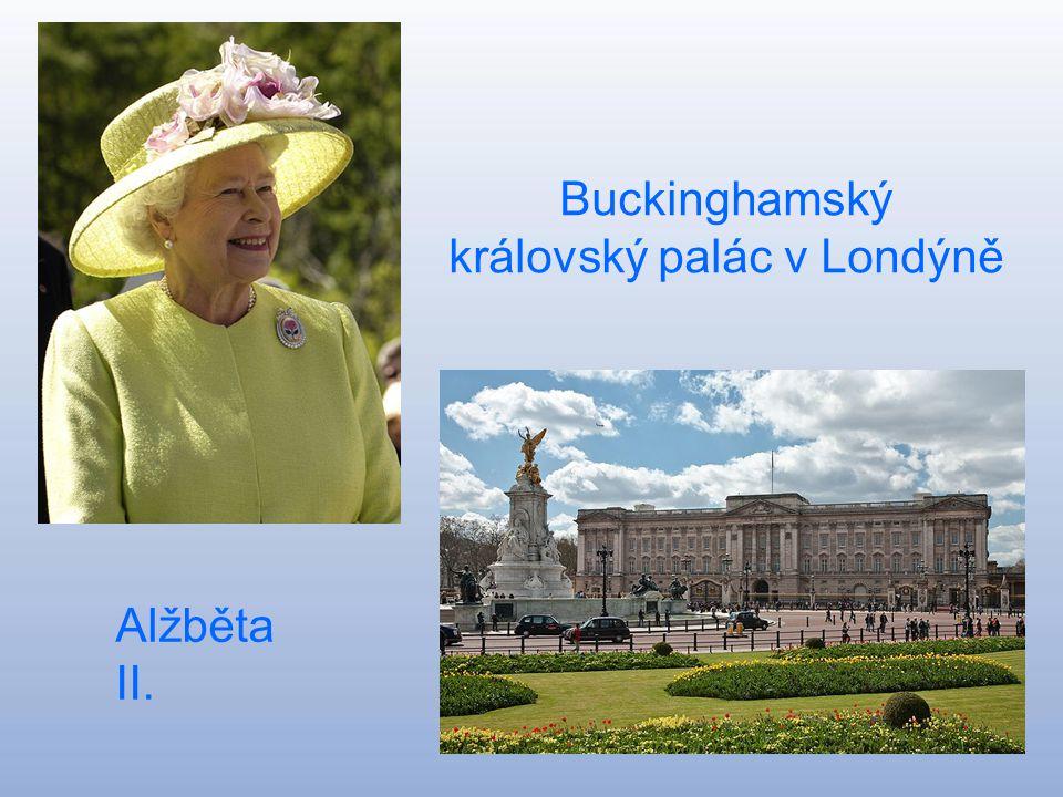 Buckinghamský královský palác v Londýně