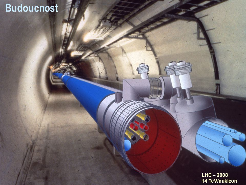 Budoucnost LHC – 2008 14 TeV/nukleon