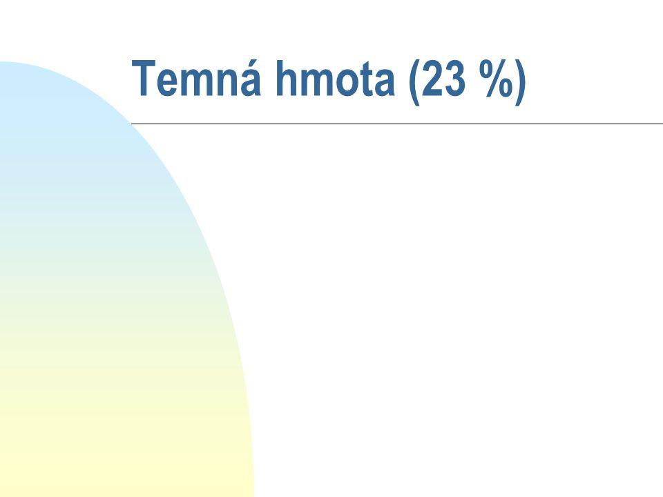 Temná hmota (23 %)