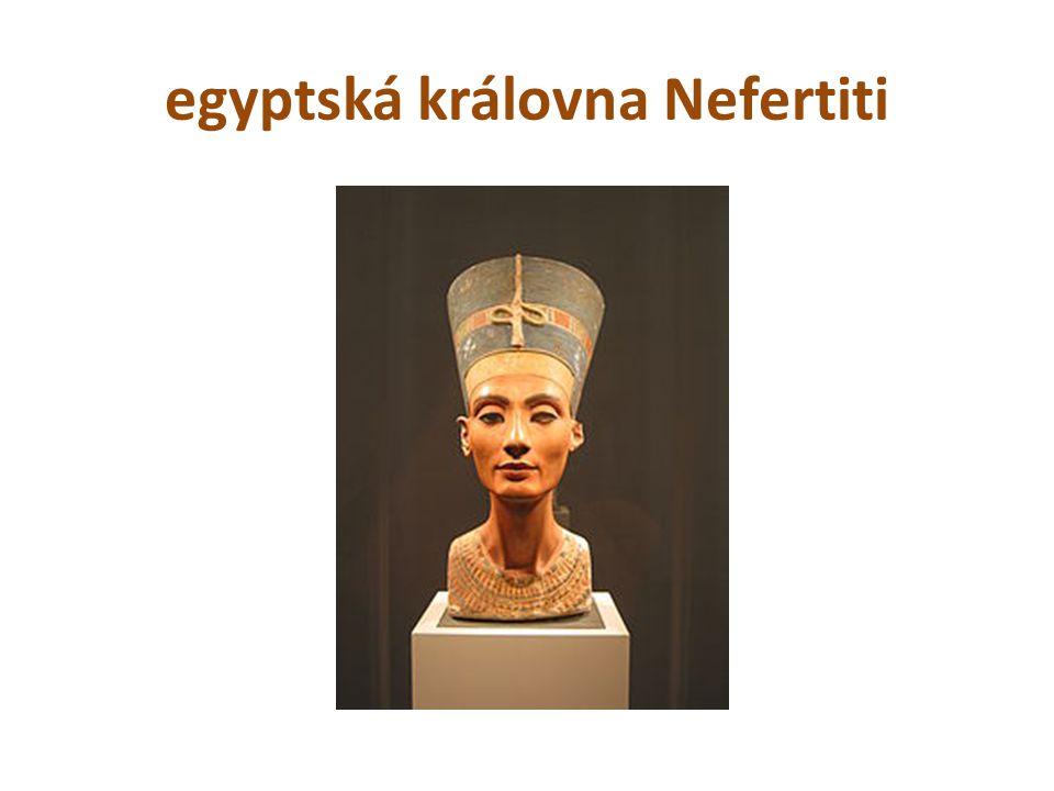 egyptská královna Nefertiti