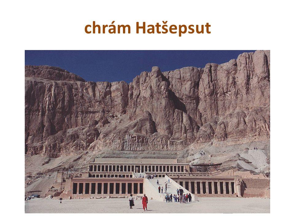 chrám Hatšepsut
