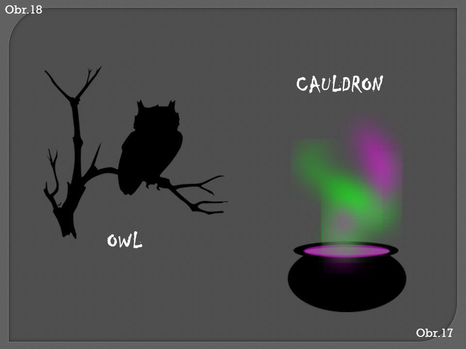 Obr.18 CAULDRON OWL Obr.17