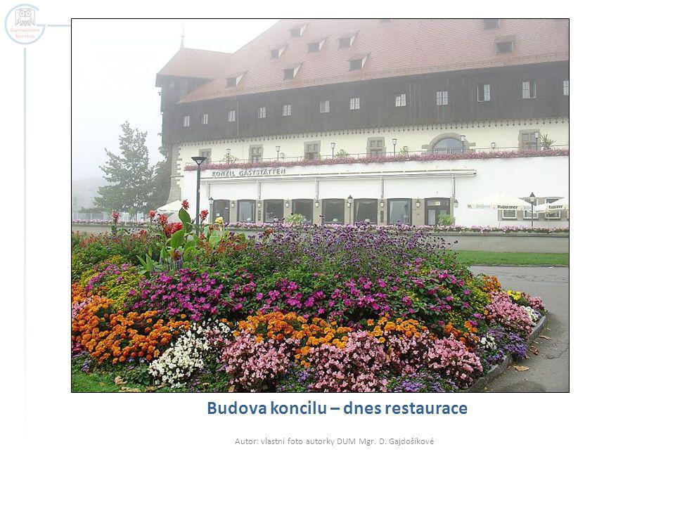 Budova koncilu – dnes restaurace