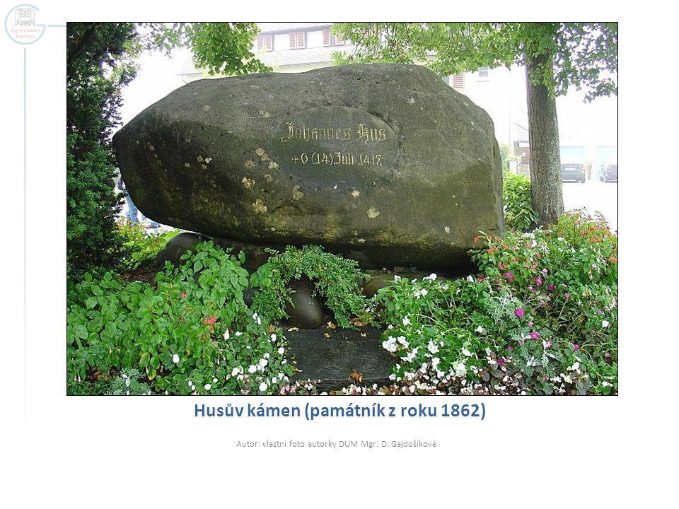 Husův kámen (památník z roku 1862)