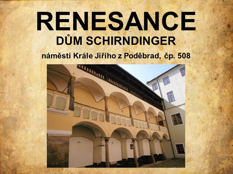 náměstí Krále Jiřího z Poděbrad, čp. 508
