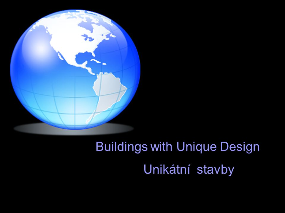 Buildings with Unique Design