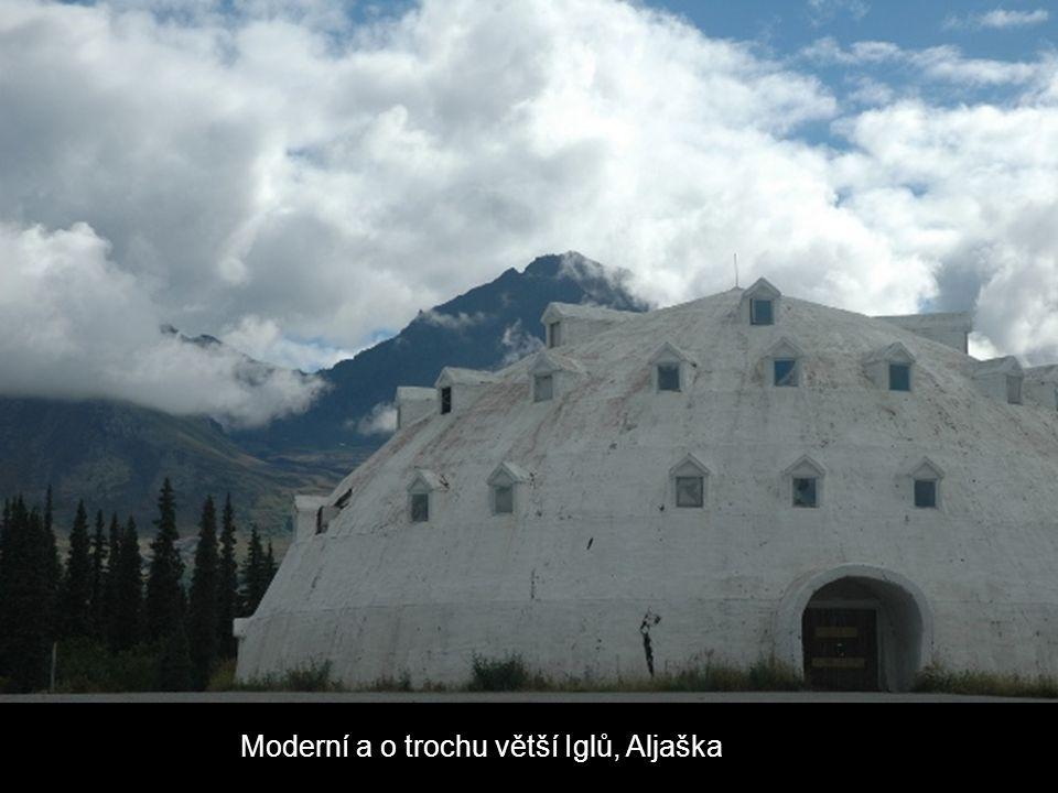 Moderní a o trochu větší Iglů, Aljaška