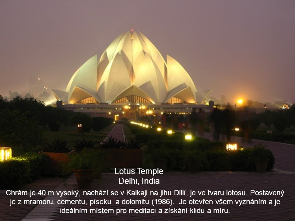Lotus Temple Delhi, India