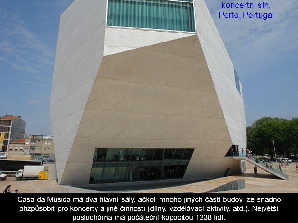 Casa da musica, koncertní síň, Porto, Portugal