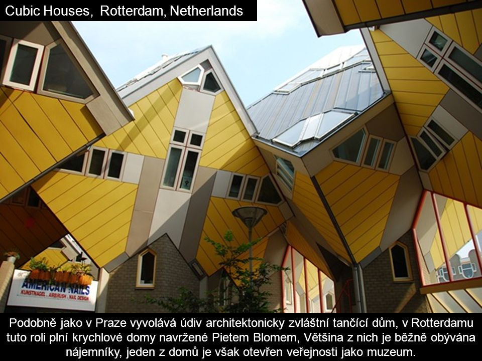 Cubic Houses, Rotterdam, Netherlands