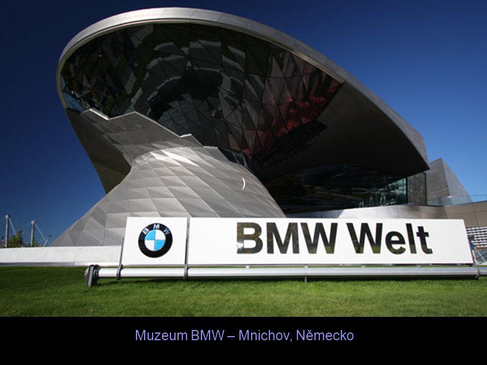 Muzeum BMW – Mnichov, Německo