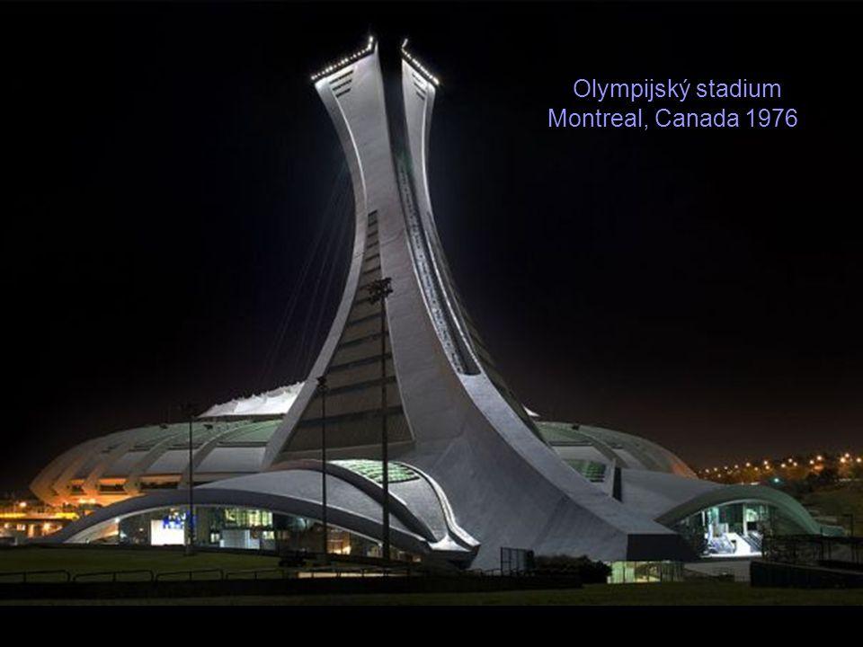 Olympijský stadium Montreal, Canada 1976