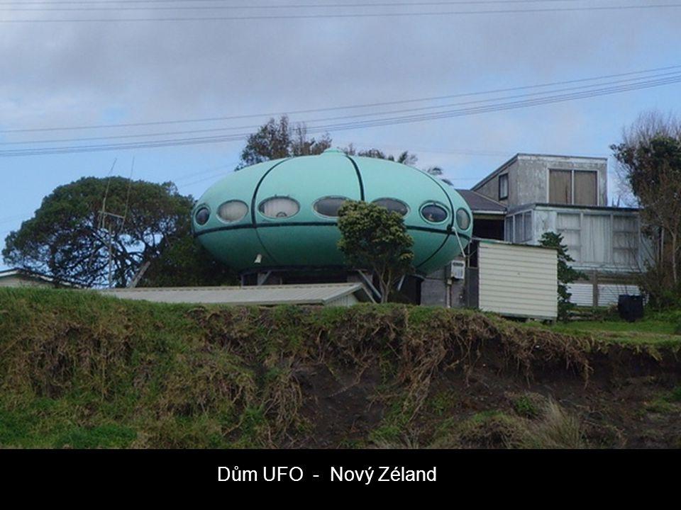 Dům UFO - Nový Zéland