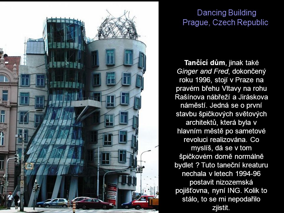 Dancing Building Prague, Czech Republic