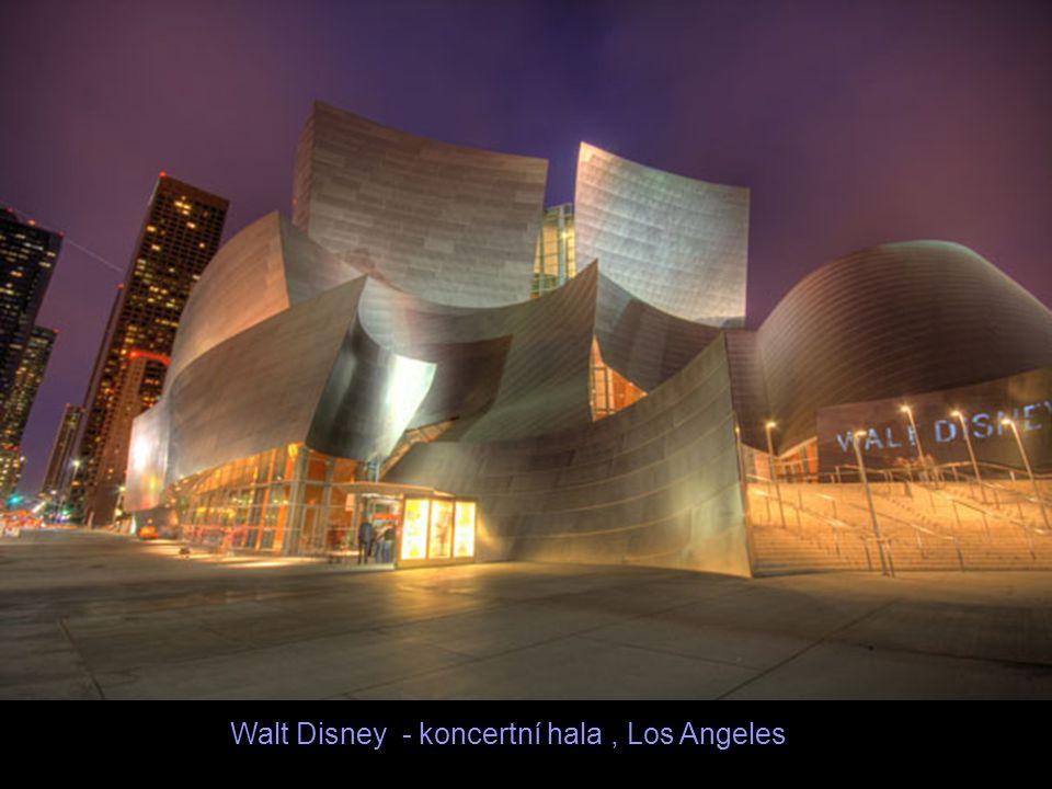 Walt Disney - koncertní hala , Los Angeles