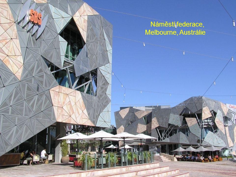 Náměstí federace, Melbourne, Austrálie