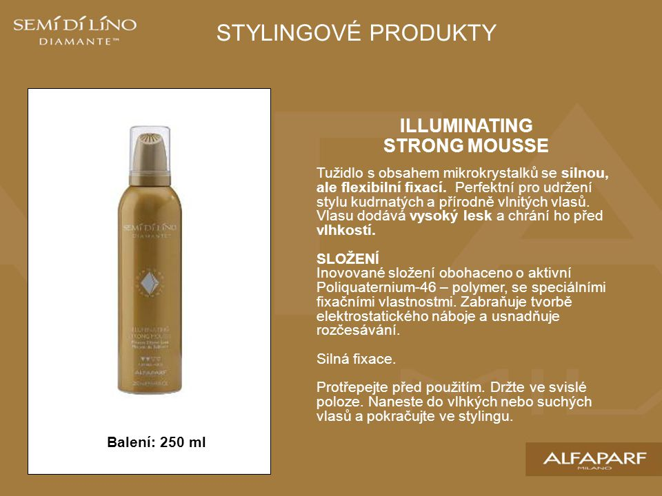 ILLUMINATING STRONG MOUSSE
