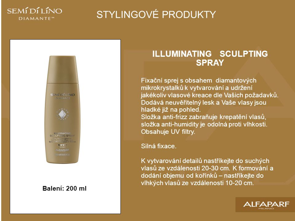 ILLUMINATING SCULPTING SPRAY