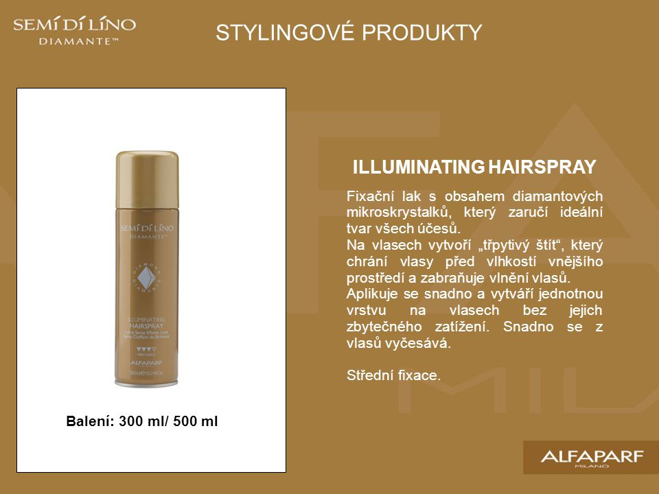 ILLUMINATING HAIRSPRAY