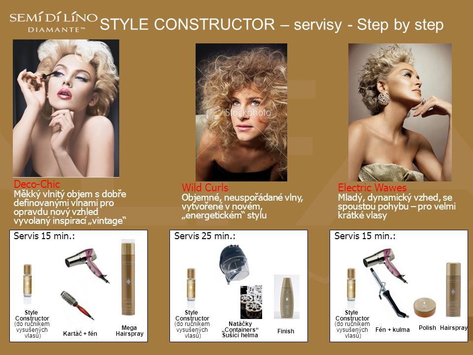 STYLE CONSTRUCTOR – servisy - Step by step