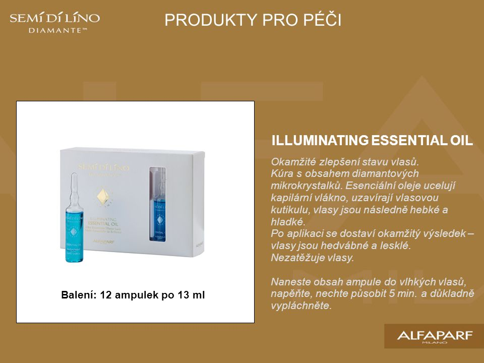 ILLUMINATING ESSENTIAL OIL