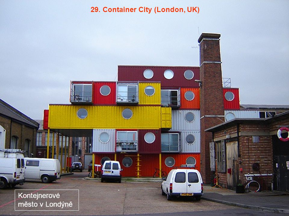 29. Container City (London, UK)