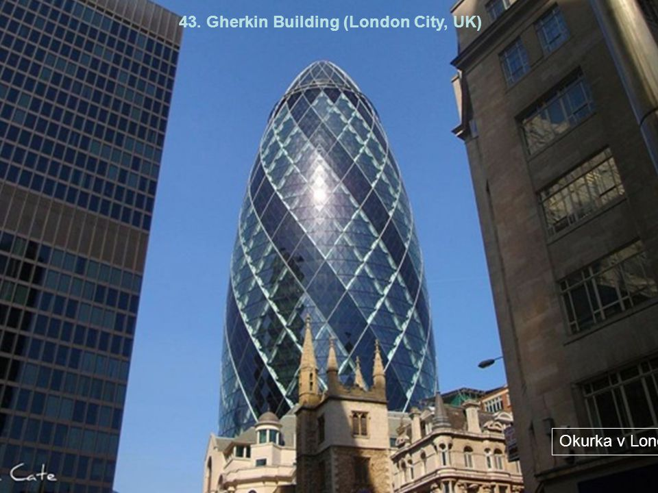 43. Gherkin Building (London City, UK)