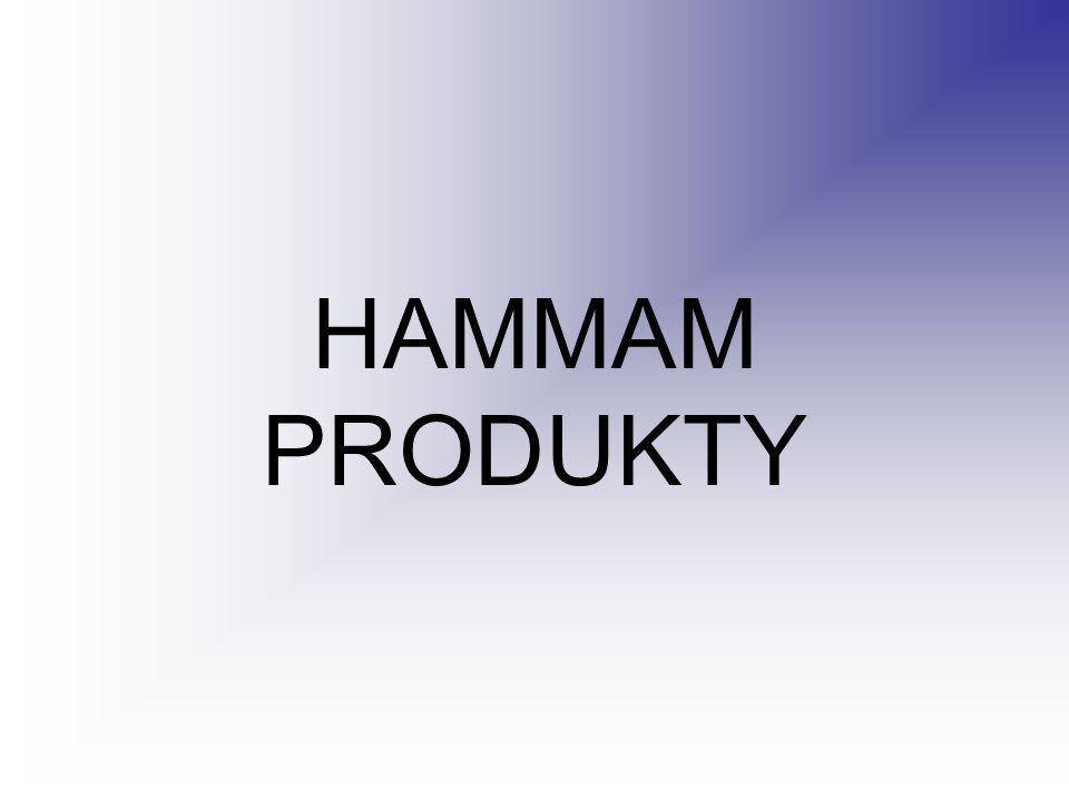 HAMMAM PRODUKTY