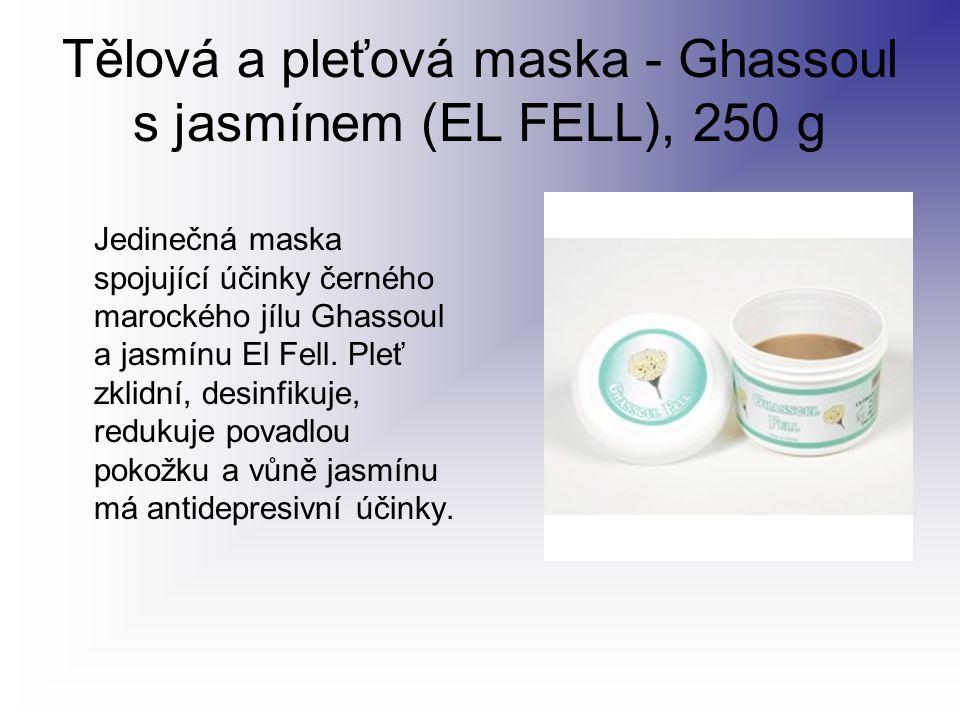 Tělová a pleťová maska - Ghassoul s jasmínem (EL FELL), 250 g