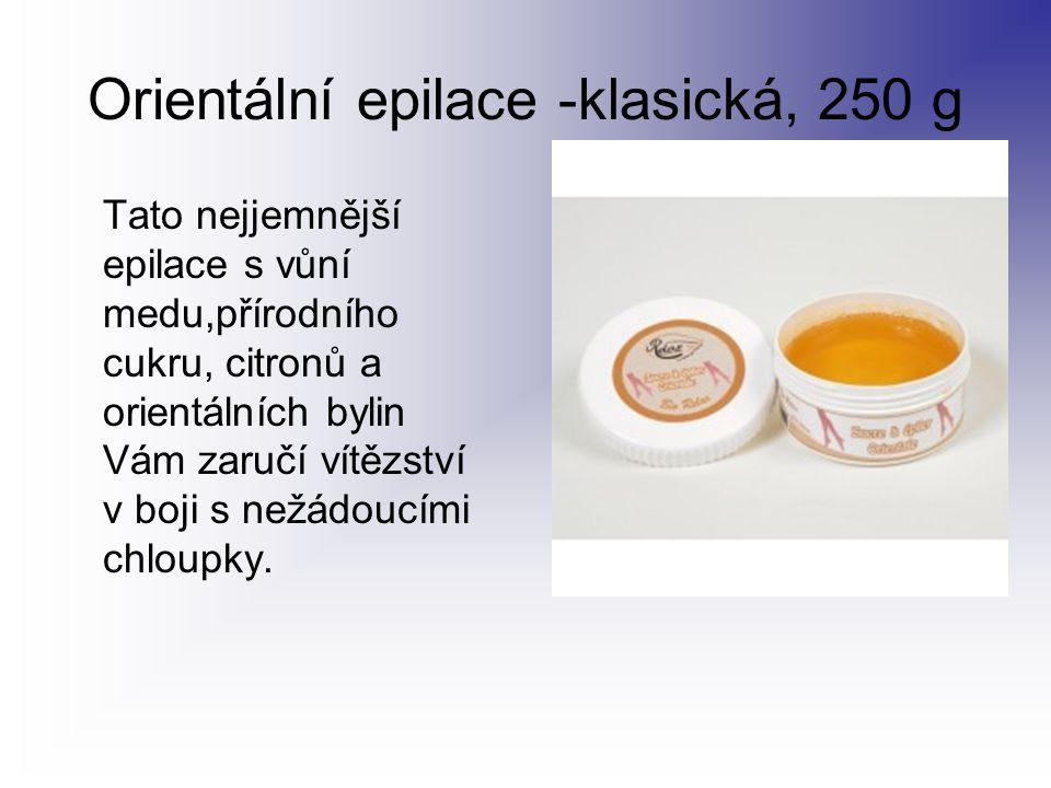 Orientální epilace -klasická, 250 g