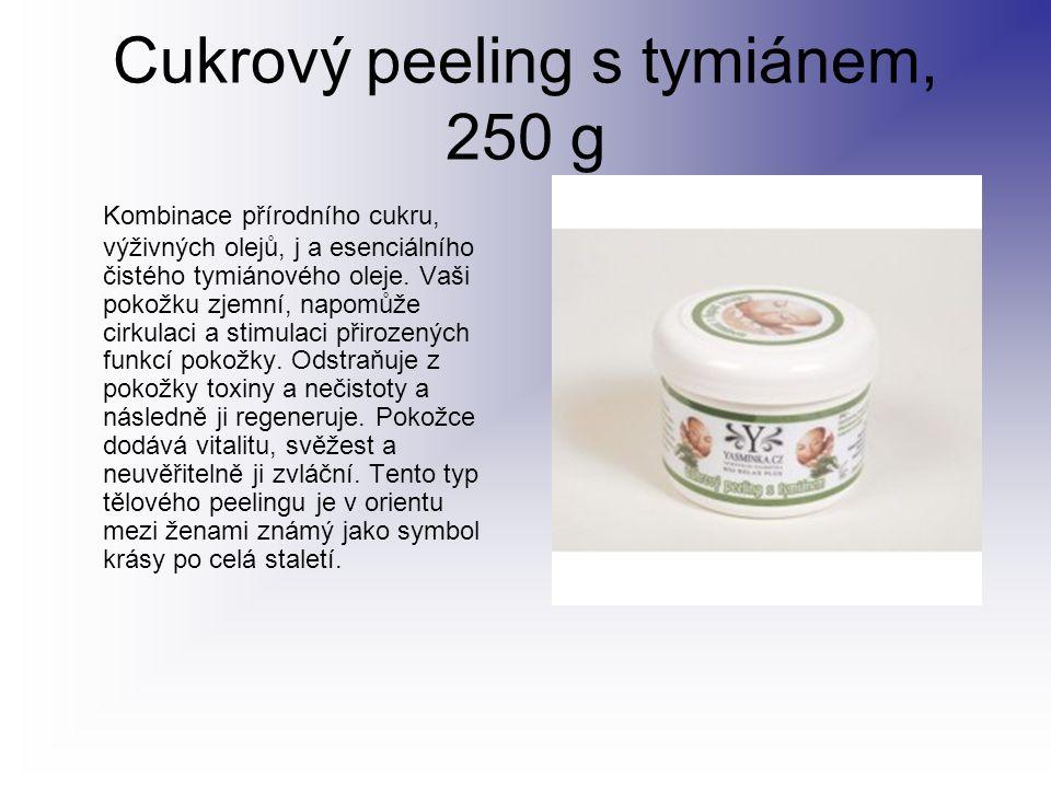 Cukrový peeling s tymiánem, 250 g