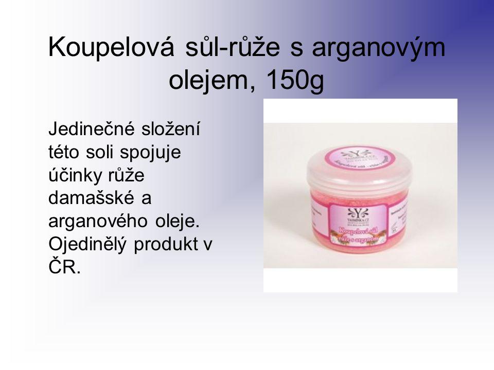 Koupelová sůl-růže s arganovým olejem, 150g