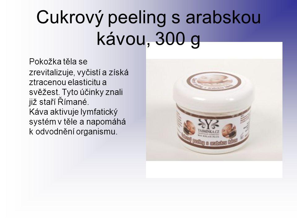 Cukrový peeling s arabskou kávou, 300 g