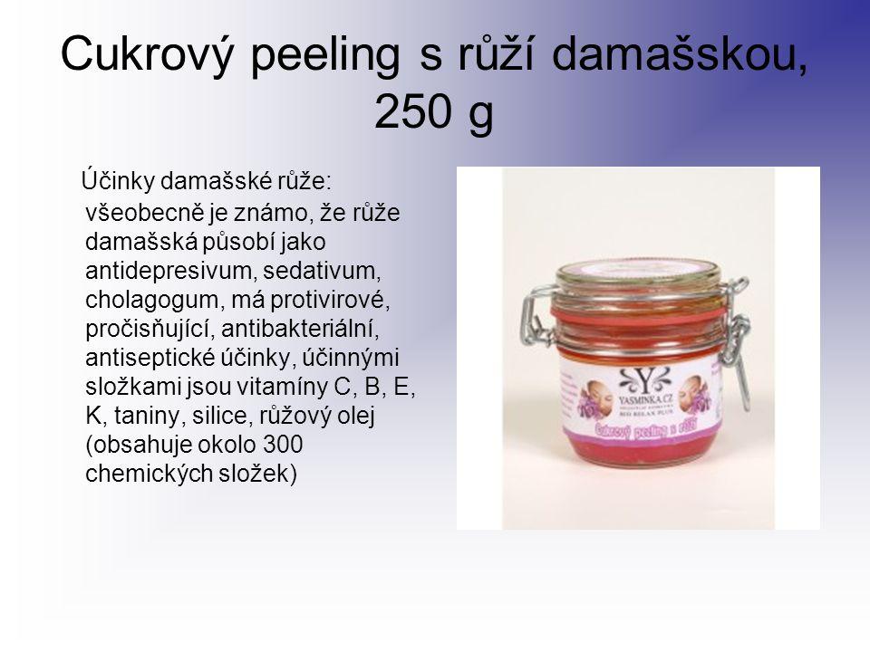 Cukrový peeling s růží damašskou, 250 g