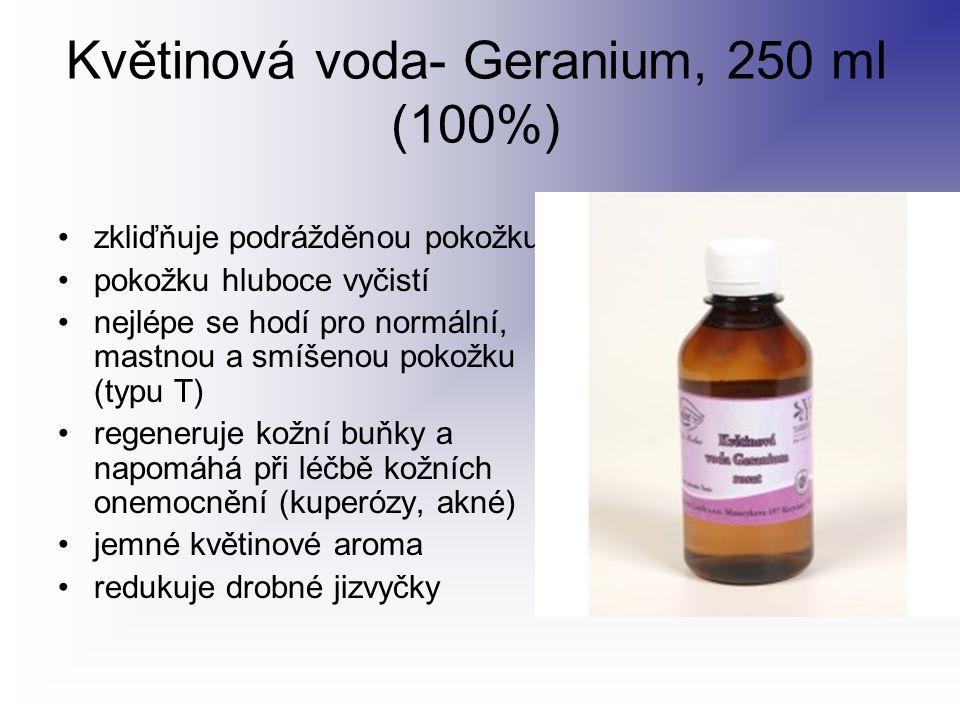 Květinová voda- Geranium, 250 ml (100%)
