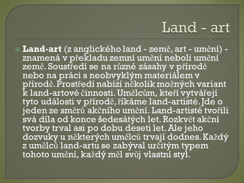 Land - art