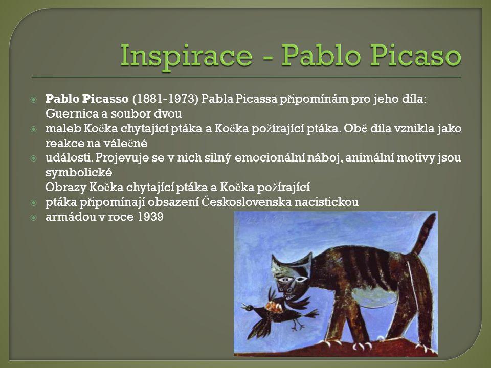 Inspirace - Pablo Picaso