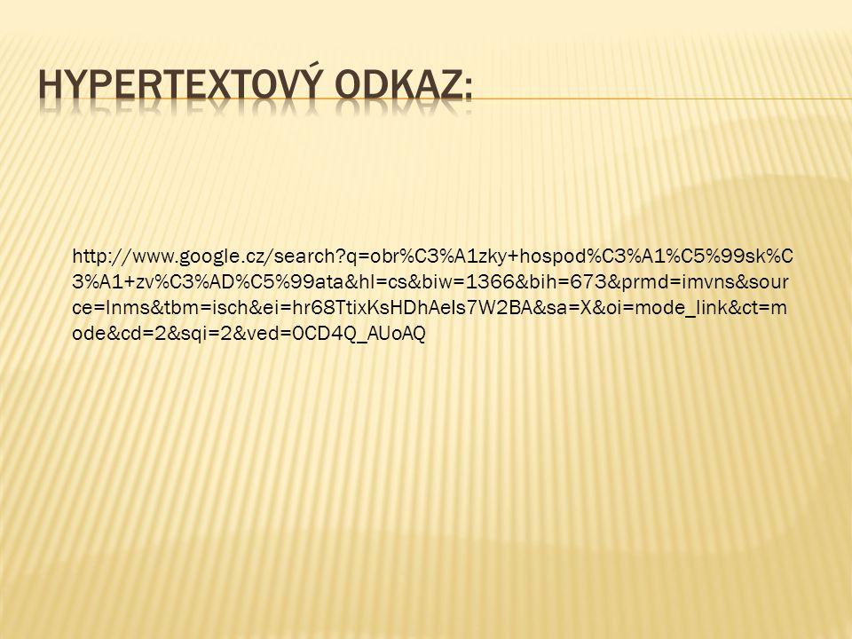 Hypertextový odkaz: