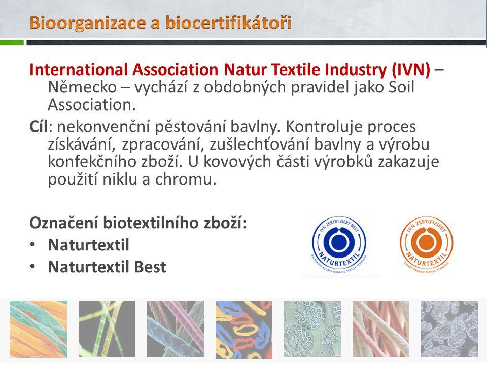 Bioorganizace a biocertifikátoři
