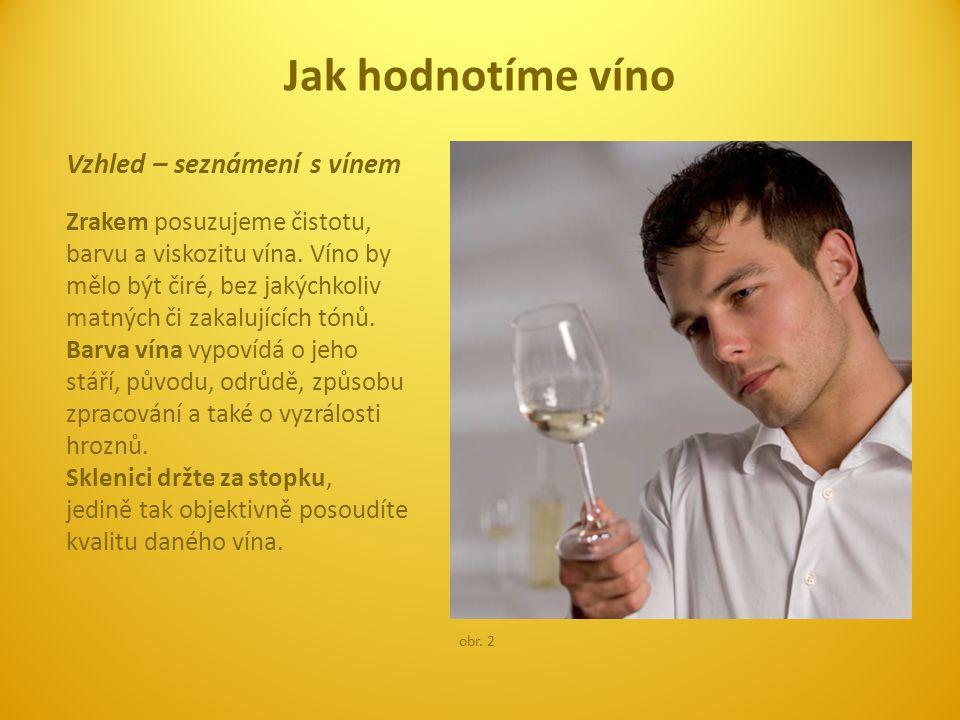 Jak hodnotíme víno Vzhled – seznámení s vínem