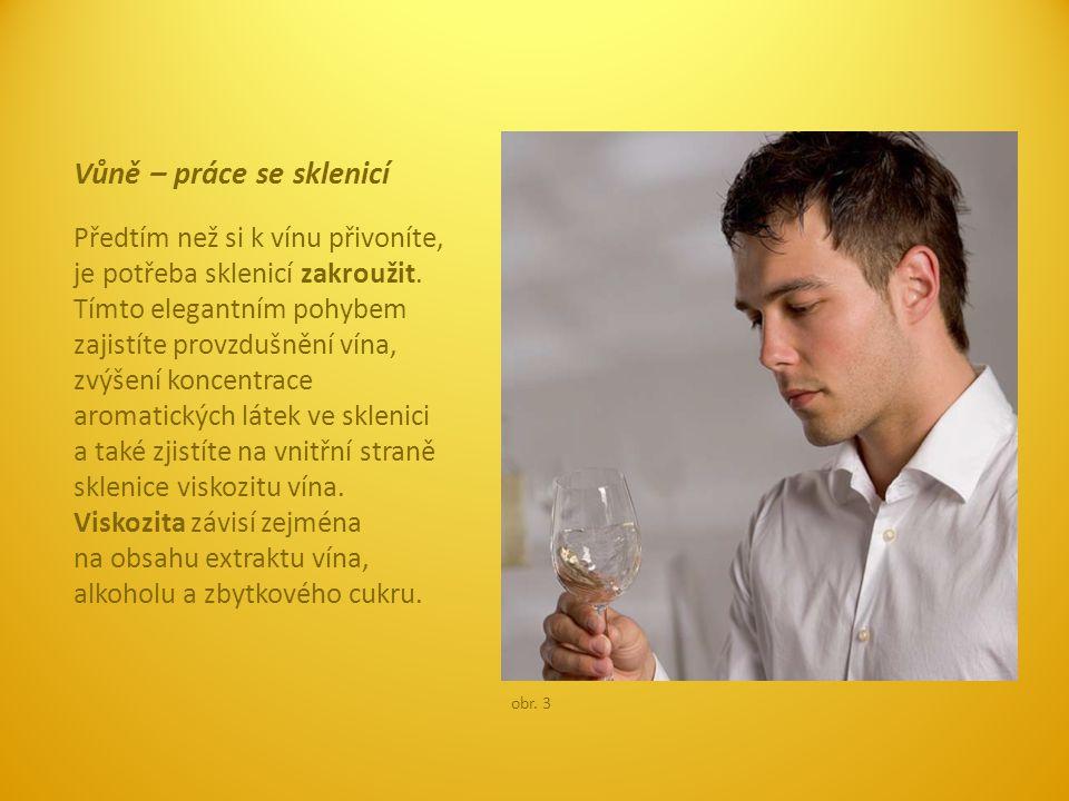 Vůně – práce se sklenicí