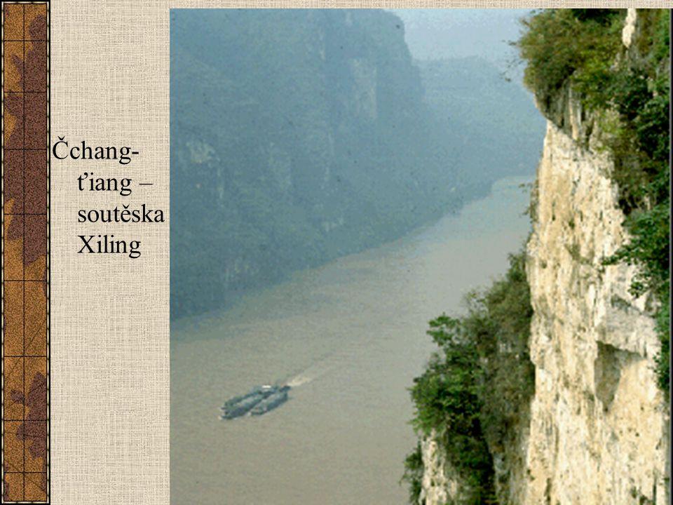 Čchang-ťiang – soutěska Xiling