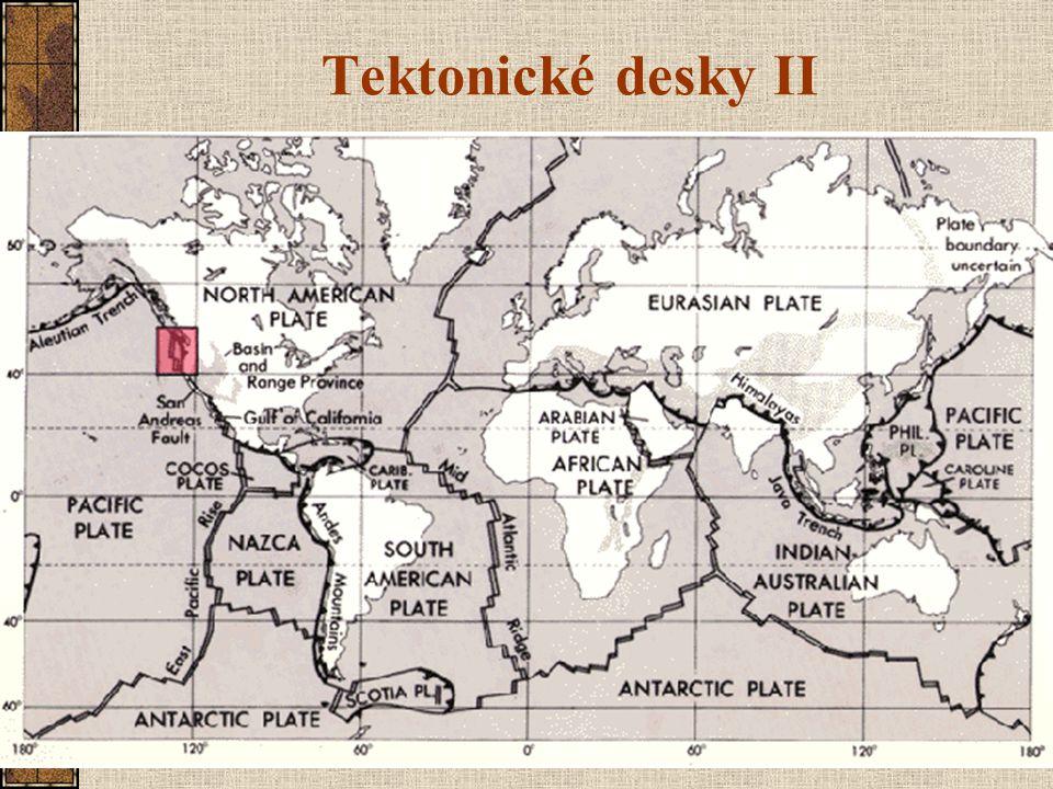 Tektonické desky II
