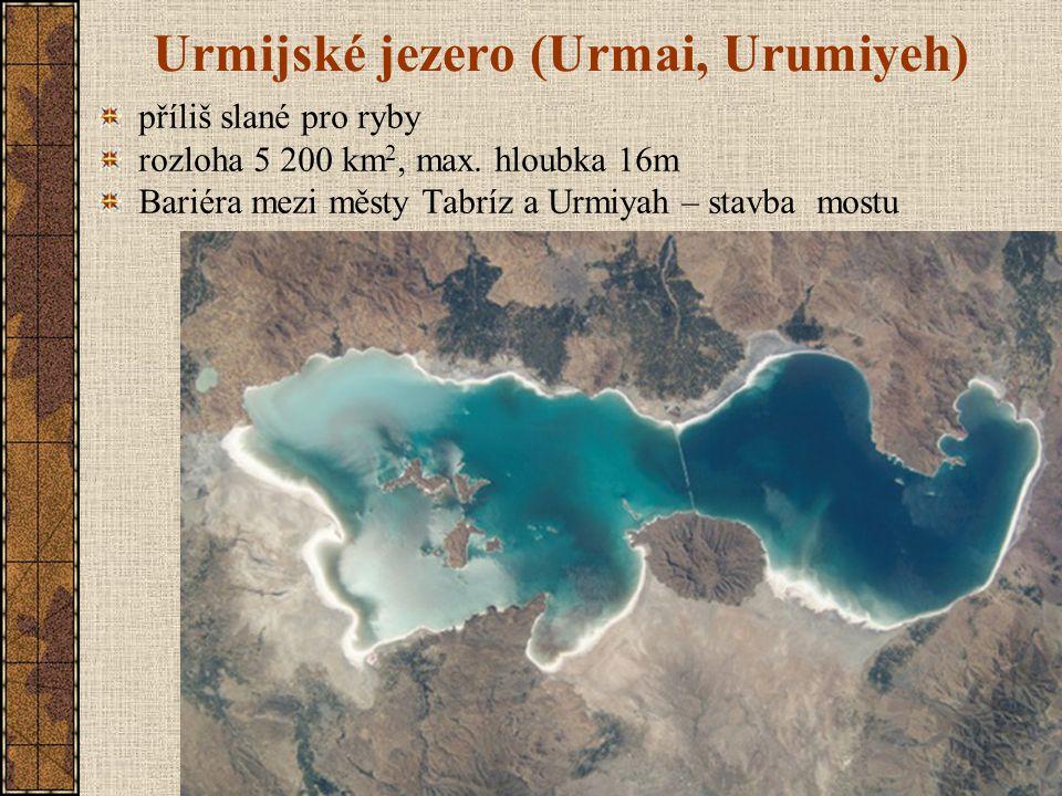 Urmijské jezero (Urmai, Urumiyeh)